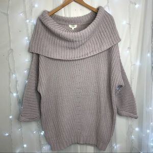 Oversized Slouchy Sweater Size L NWT